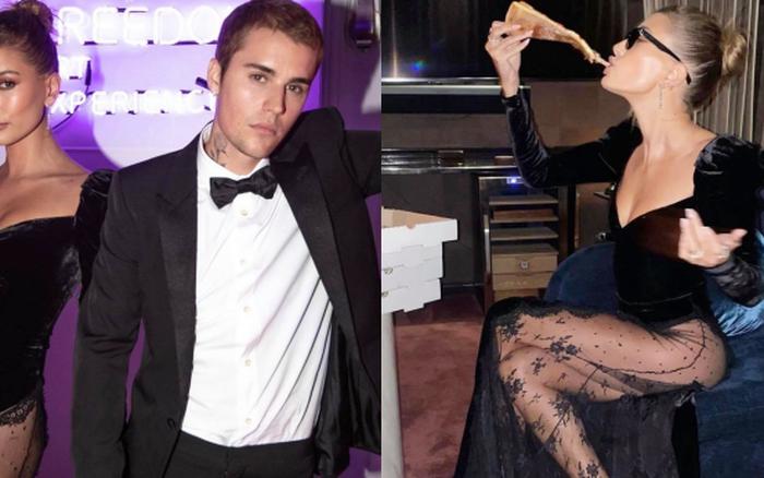 Vợ chồng Justin Bieber tung ảnh sự kiện hot: Chàng thần thái đỉnh cao, spotlight lại dồn về vòng 3 lộ gần hết của Hailey