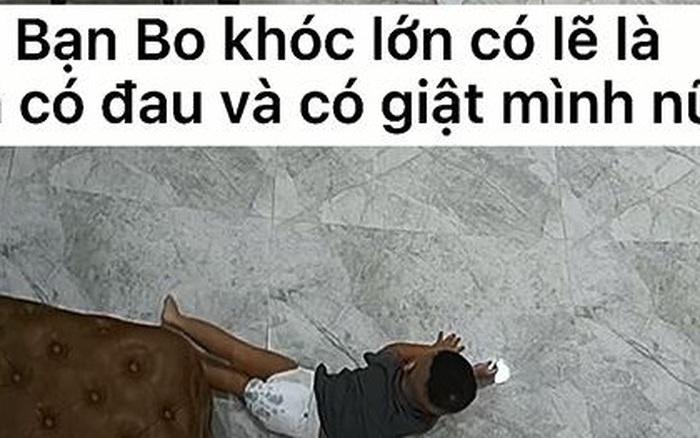 Thót tim clip CCTV con trai Hoà Minzy bất chợt ngã lăn từ trên cao xuống đất, bố Minh Hải xem xong thốt lên: