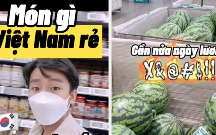 Loại thực phẩm rẻ bèo ở Việt Nam nhưng sang đến Hàn Quốc lại có giá