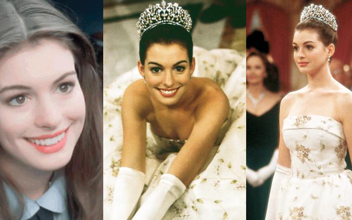 Ngất ngây ảnh nữ thần ngực khủng Anne Hathaway hóa công chúa: Nhan sắc chuẩn báu vật Hollywood, khí chất vương giả khó ai bì