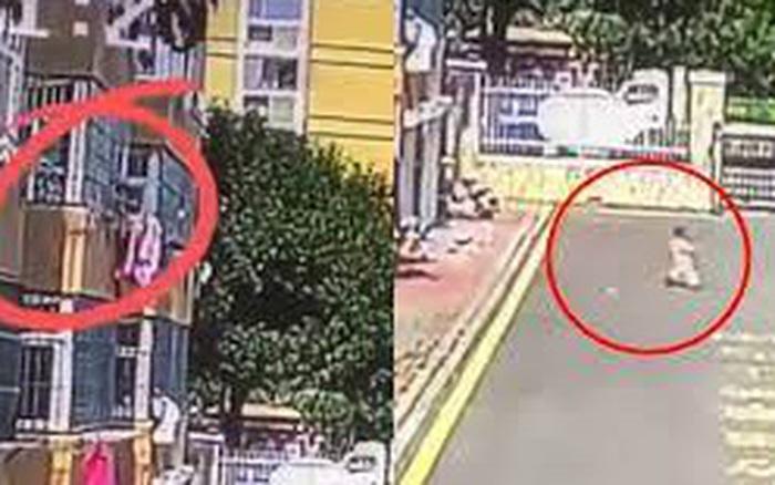 Clip: Người phụ nữ đứng trên cao ném chậu cây xuống em bé 2 tuổi vì lý do