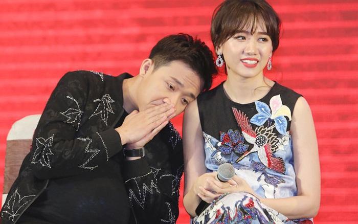 """Hari Won 7749 lần lộ chi tiết nghi vấn mang thai, nay Trấn Thành bỗng gây xôn xao khi nhắc đến """"con""""?"""