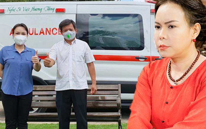 Giao xe cứu thương 2,55 tỷ cho ông Đoàn Ngọc Hải, NS Việt Hương phải lên tiếng cực căng vì bị chỉ trích nặng nề