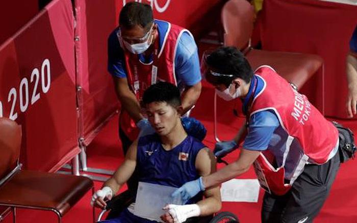 Võ sĩ Nhật Bản vẫn giành chiến thắng tại Olympic Tokyo dù bị đấm đến