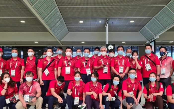 Đoàn Thể thao Việt Namvề nước sau hành trình tại Olympic Tokyo 2020