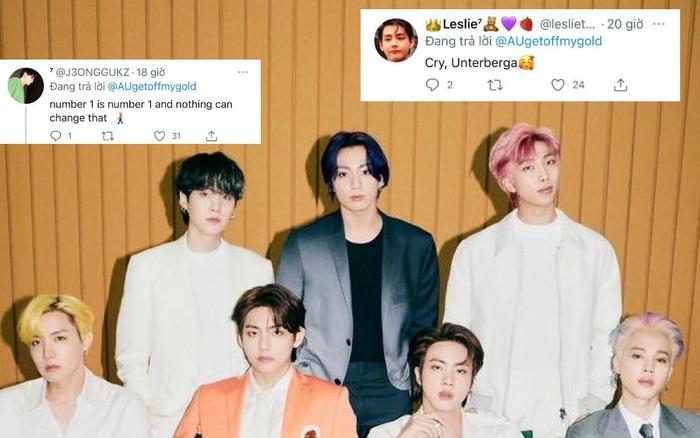 Fan BTS tràn vào Twitter của Phó Tổng biên tập Billboard vì khinh thường #1 của idol: