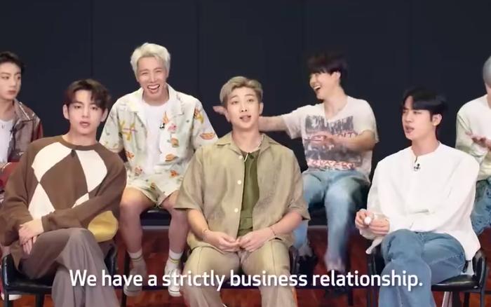 BTS bất ngờ thú nhận