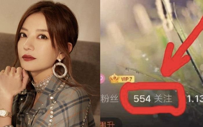 Phát hiện điểm bất thường trên Weibo của Triệu Vy, thái độ của