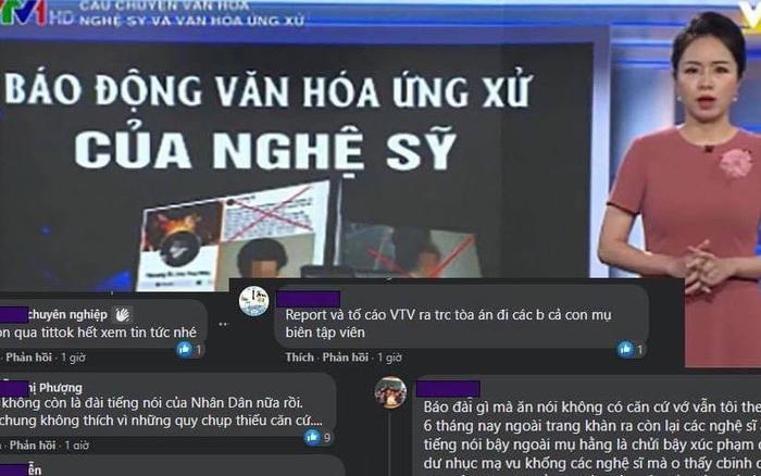 Ngay lúc Thuỷ Tiên công khai sao kê, VTV bị cộng đồng mạng tấn công dữ dội vì bản tin