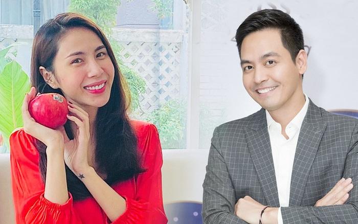 Thuỷ Tiên đối thoại cùng MC Phan Anh chủ đề