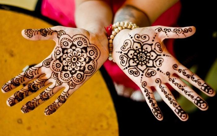 Kết quả hình ảnh cho Vẽ Henna