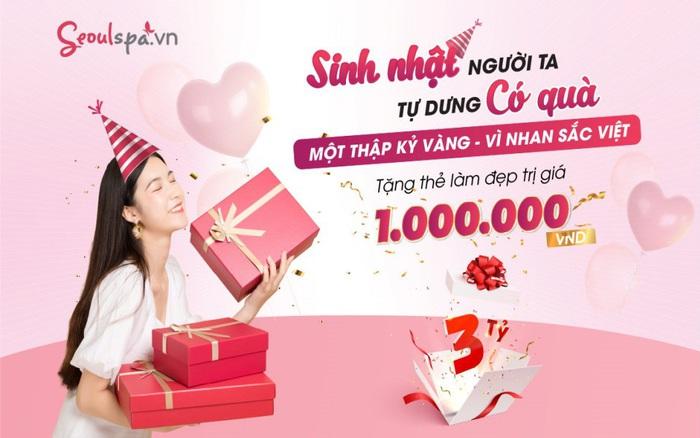 """""""Cơn lốc"""" ưu đãi mừng sinh nhật với quà tặng khủng lên đến 3 tỷ đồng tại Seoul ..."""
