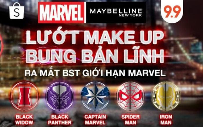Maybelline New York dẫn đầu ngành hàng trang điểm với hơn 5,000 đơn hàng được bán ra vào 9.9 Ngày Siêu Mua Sắm tại Shopee