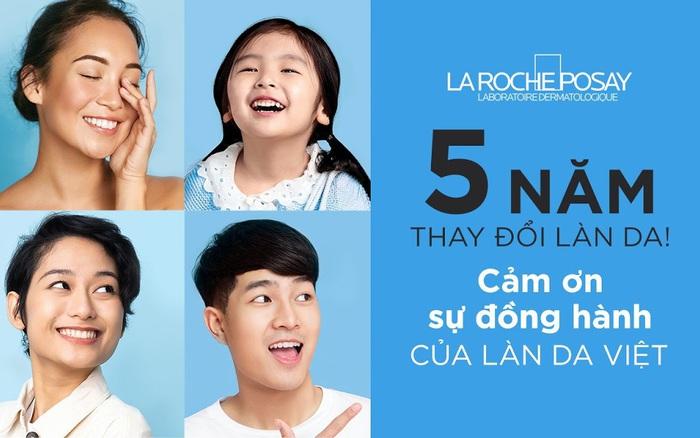La Roche Posay và Shopee - Cảm ơn bạn cùng hành trình 5 năm thay đổi làn da tại Việt Nam