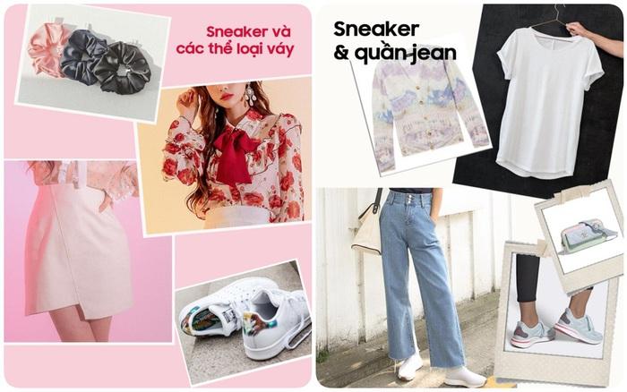 """Sneaker thì ai cũng có nhưng diện đồ thế nào cho """"chất"""