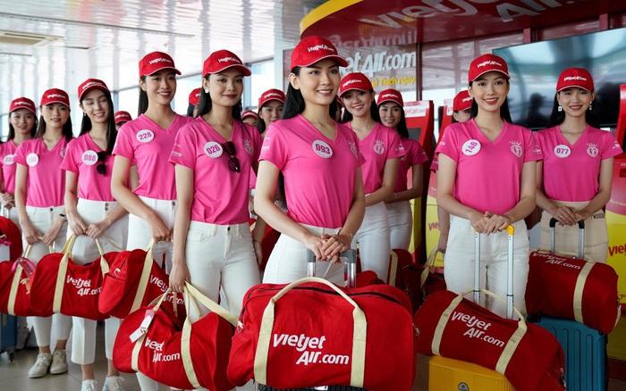 Dàn thí sinh xuất sắc vòng Chung kết Hoa hậu Việt Nam 2020 lên đường thực hiện nhiệm vụ nhân ái