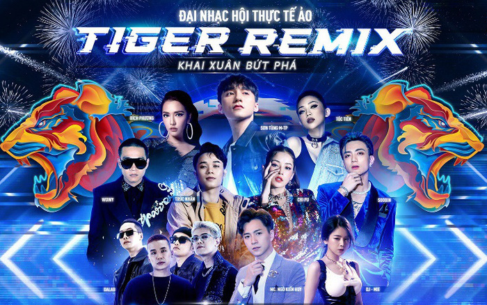 """Mạng xã hội """"dậy sóng"""" ngóng chờ Sơn Tùng M-TP khuấy động không gian thực tế ảo Tiger Remix 2021"""