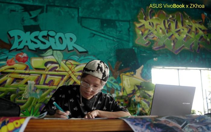 Từ ZKhoa - Thủ lĩnh nhóm Wallovers để nghe kể về câu chuyện Graffiti mang vị cộng đồng
