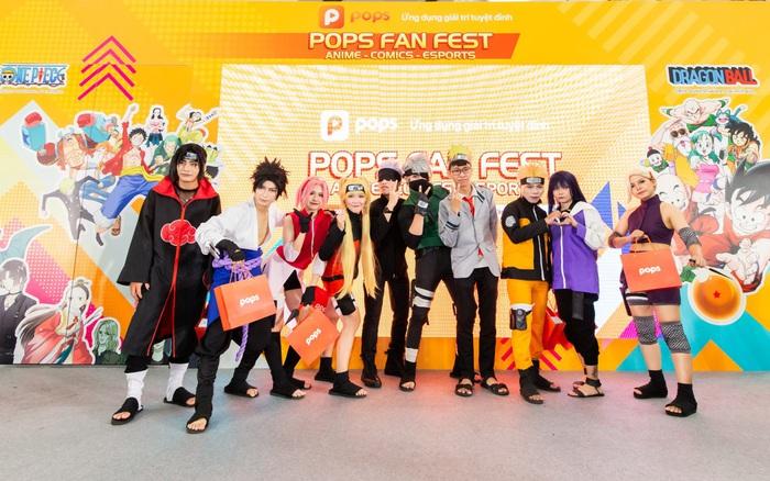 """POPS Fan Fest đãi fan anime, truyện tranh, eSports sân chơi """"chất như nước cất"""", quà cáp rợp trời"""