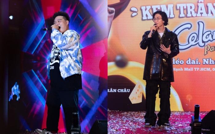 Gonzo đứng chung sân khấu cùng Yuno Bigboi khiến khán giả