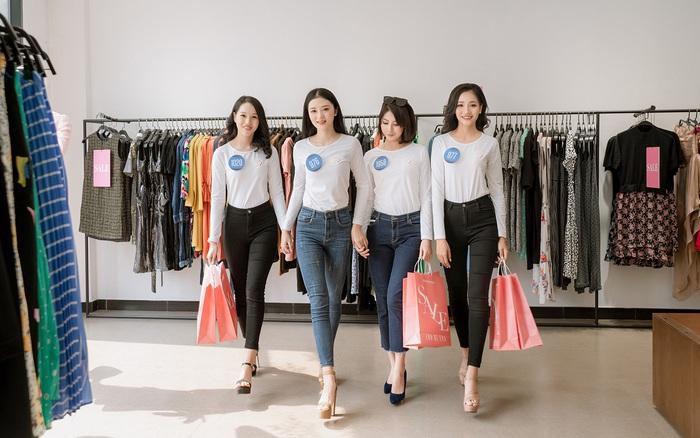 """Dàn chân dài Hoa khôi Sinh viên Việt Nam """"đổ bộ"""" showroom Eva de Eva: Toàn nhan sắc """"cực phẩm!"""""""
