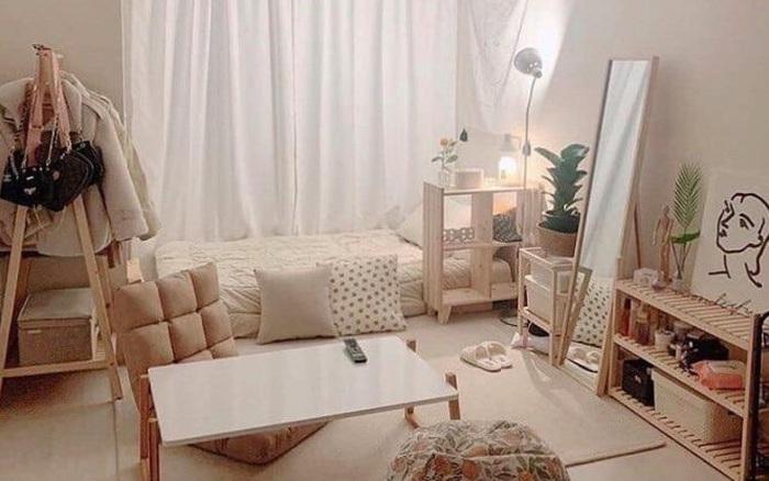 Decor phòng ngủ xịn sò kiểu Nhật chỉ với 49K