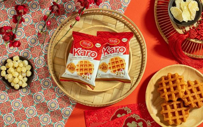 Tết ý nghĩa và tiện lợi với bánh Karo trứng tươi chà bông