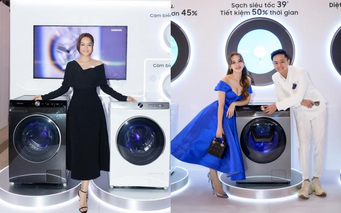 Có gì trong chiếc máy giặt thông minh mới khiến Phạm Quỳnh Anh cho tới vợ chồng đạo diễn Victor Vũ đều mê mẩn?