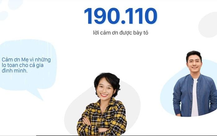 Gần 200.000 lời cảm ơn ý nghĩa đã được gửi đi để gây quỹ 5 tỷ đồng hỗ trợ các dự án cộng đồng