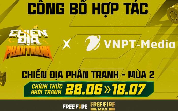 VNPT-Media chính thức là nhà tài trợ cho Chiến Địa Phân Tranh mùa 2
