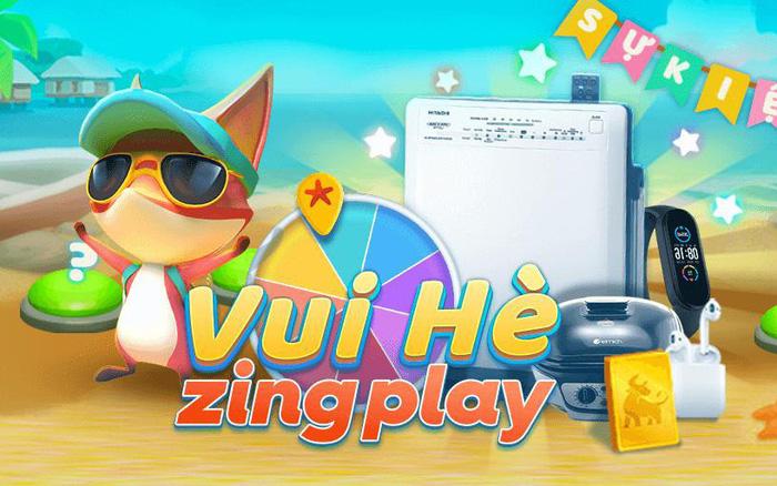 """""""Vui Hè ZingPlay"""" rinh ngay quà hot - Sân chơi tưng bừng của cộng đồng game thủ Việt - mega 655"""