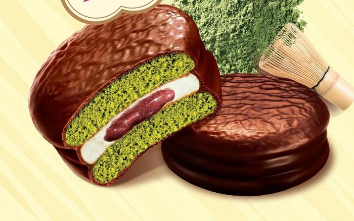 Bất ngờ với Choco Pie vỏ xanh vừa ra mắt, ăn thử mới biết bên trong còn bất ngờ hơn