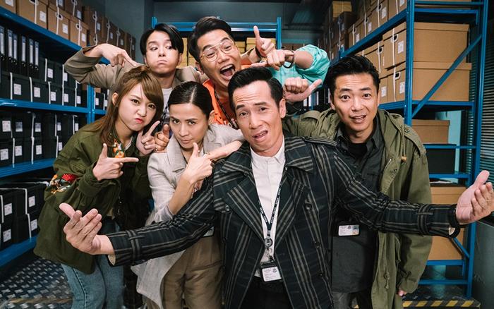Huyền thoại TVB Lực Lượng Phản Ứng trở lại trong diện mạo tân thời hài hước - mega 655